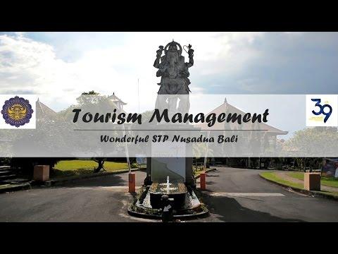 TOURISM MANAGEMENT FOR WONDERFUL STP 39TH