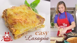 How to Cook an Easy and Budget-Friendly Lasagna (EASY LASAGNA)