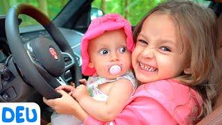 Wir sind im Auto   Maya und Mary - Deutsche Kinderlieder