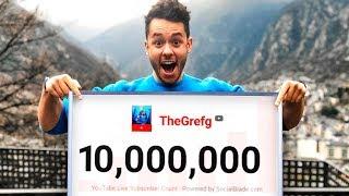 ¡LLEGANDO A 10.000.000 DE SUSCRIPTORES! - TheGrefg