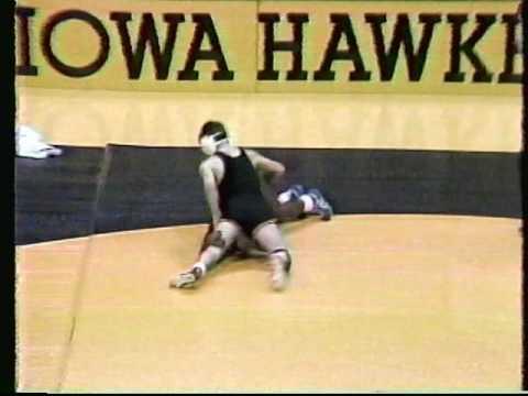 SIUE VS Iowa Hawkeyes NCAA Wrestling 1987 Carver Arena