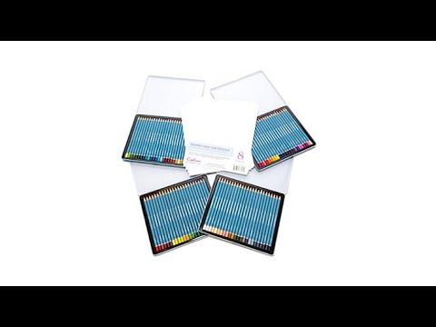 Spectrum Noir AquaBlend 96 Watercolor Pencils with Paper