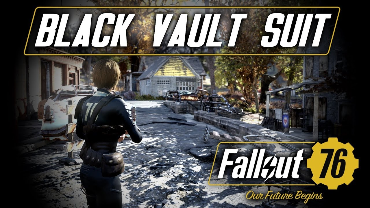 Black Vault Suit (Fallout 76 mod) by Neeher