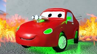 拖车汤姆在汽车城 🚗 赛车杰瑞 - 国语中文儿童卡通片 Car City 動畫合集 - Chinese Mandarin Cartoons for Children