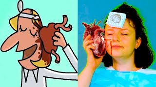Cut Out The Heart! And Other TOP 13 Episodes Of Cartoons Parodies