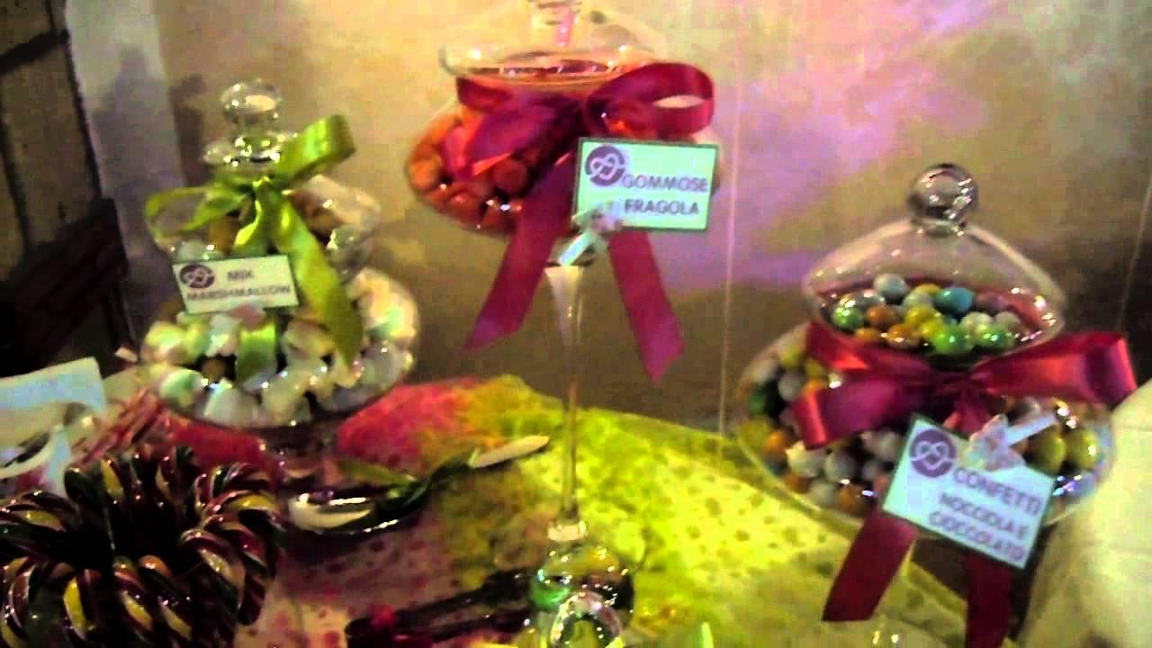 Decorazioni Sala Per 18 Anni : Anni rosalba parisi tavolo confettata e caramellata youtube