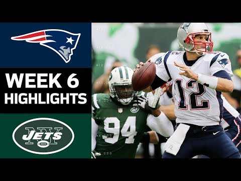 Patriots vs. Jets | NFL Week 6 Game Highlights