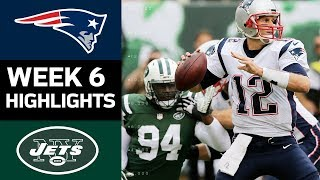 Patriots vs. Jets | NFL Week 6 Game Highlights thumbnail