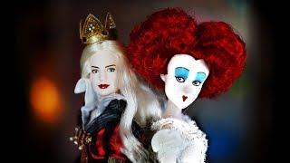 В ШОКЕ от КУКЛЫ 😱 Красная и Белая королева / Алиса в Зазеркалье