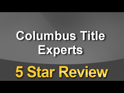 Columbus Title Experts Columbus Exceptional 5 Star Review by Erin Peters