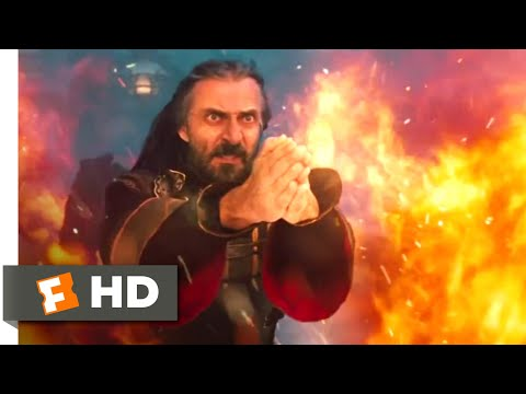 The Last Airbender (2010) - Uncle Iroh Vs. Commander Zhao Scene (9/10) | Movieclips