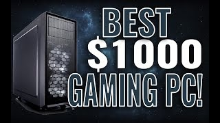 Best Gaming PC Build Under $1000 November 2017 - ALL Games 1440p!