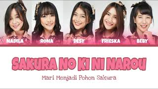 Download Lagu JKT48 - Sakura No Ki Ni Narou Mari Menjadi Pohon Sakura Color Coded  - JKT48 SOL/LUNA MP3