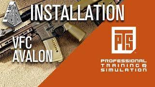 VFC Avalon + PTS | Black_Arc Airsoft | INSTALLATION