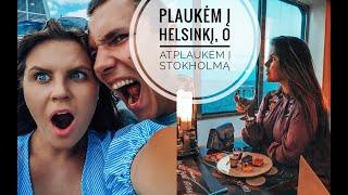 #Vlog: Plaukėm į Helsinkį, o atplaukėm į Stokholmą