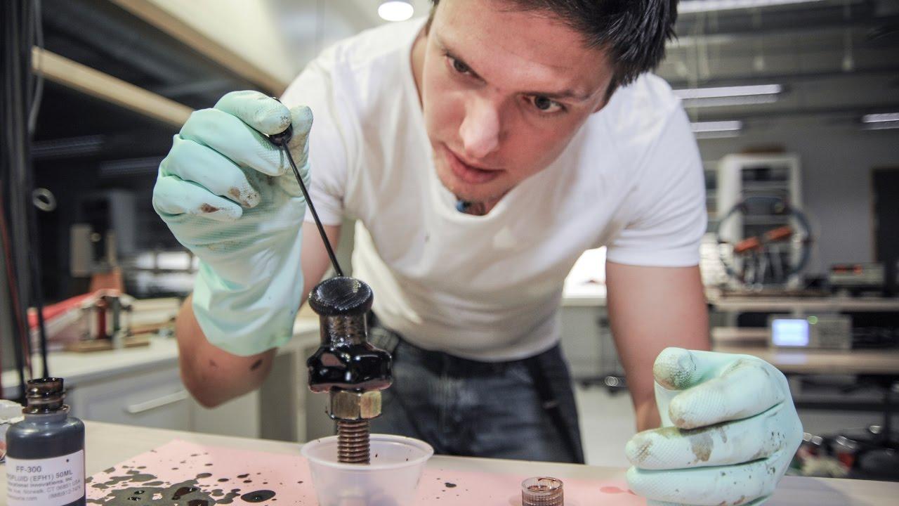 Ferrofluid - Reale Triks med Andreas Wahl
