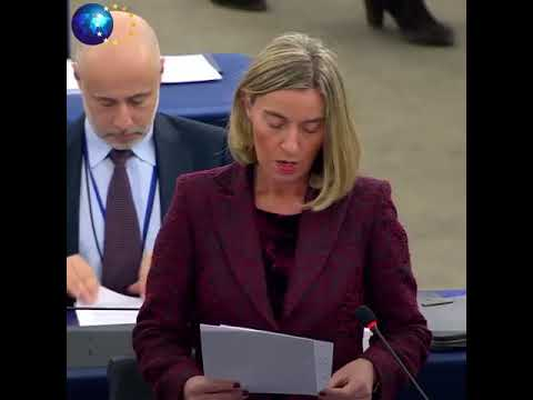 Mogherini on situation in Syria at European Parliament 13/03