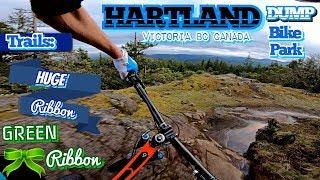 Mountain Biking on Vancouver Island-Hartland Huge Ribbon-GoPro Hero6 Karma Grip