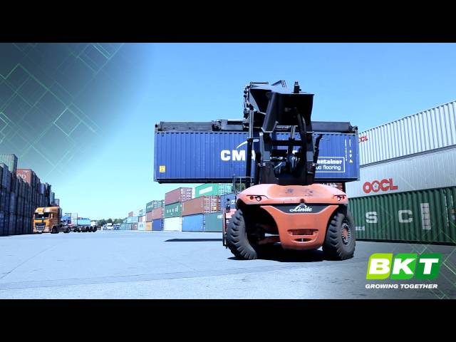 BKT Port Tires || Container King