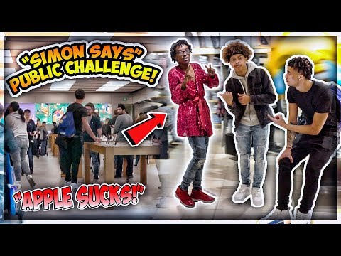 "EXTREME ""SIMON SAYS"" PUBLIC CHALLENGE!😱 