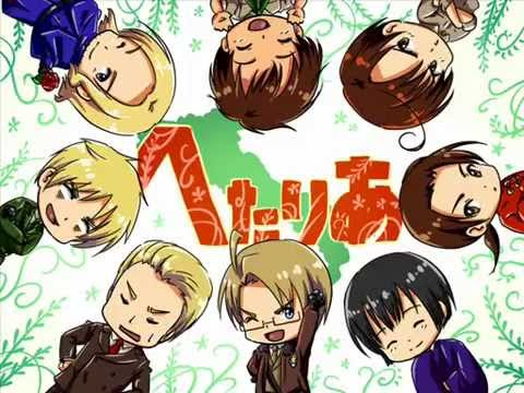 Hetalia Remix Animation