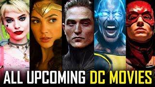 Every Upcoming DC Movie In Production | Batman, Birds Of Prey, Black Adam, Shazam, WW 1984 & More