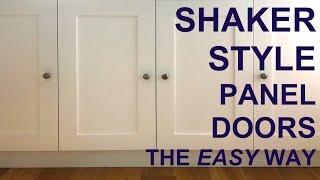 Shaker-style Panel Doors