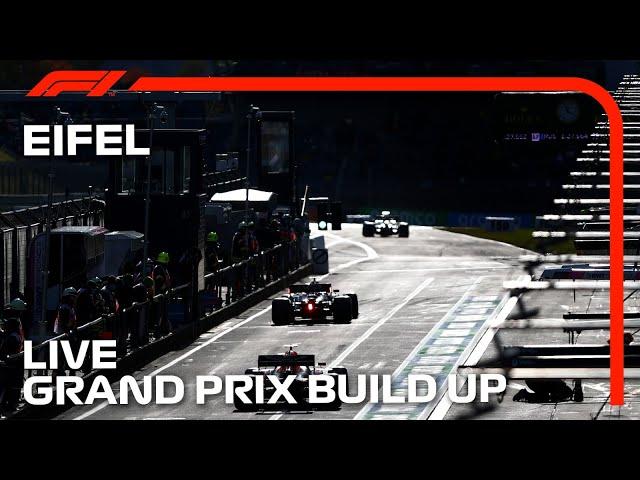 F1 LIVE: Eifel Grand Prix Build Up