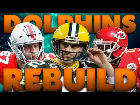The Dolphins Draft Nick Bosa! Fantasy Draft Rebuild of The Miami Dolphins | Madden 19 Franchise
