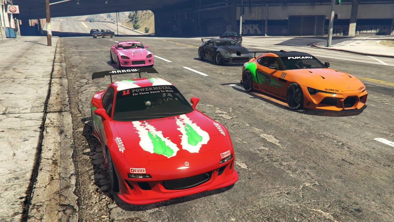 GTA Online LS Tuners: Union Depository Heist with Fast & Furious Cars