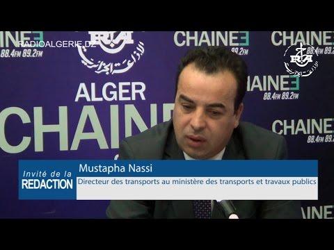 Mustapha Nassi Directeur des transports au ministère des transports et travaux publics
