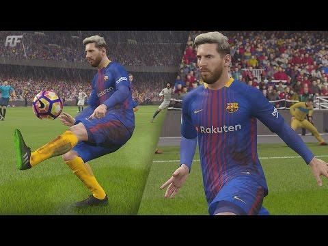 FIFA 18 | FC Barcelona New Home Kit 17/18