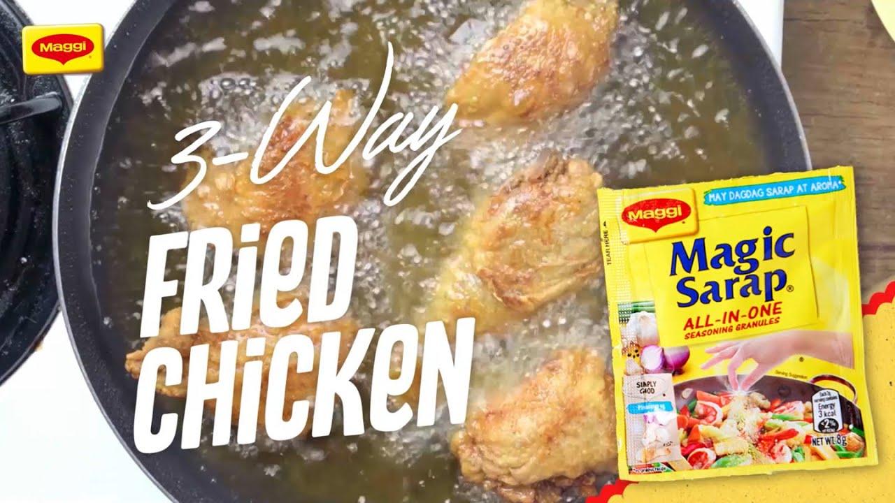 Triple-Sarap Lunch 3-Way Fried Chicken