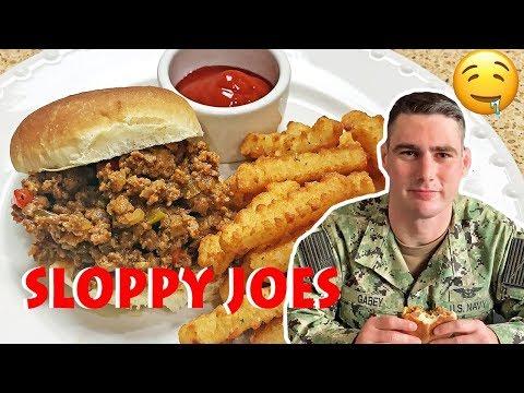 THE BEST SLOPPY JOES ( Super Easy) | Military Husband loves it