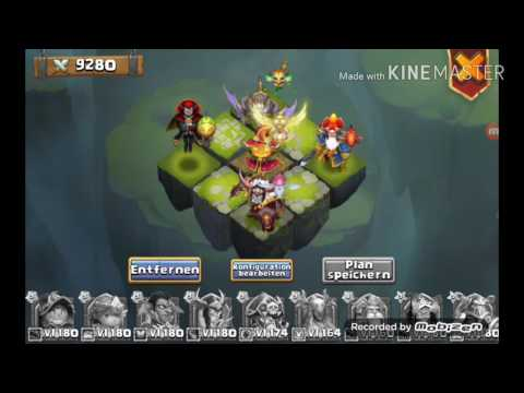 Castle Clash Best Team For Storm Mesa 4 (IV) 2017