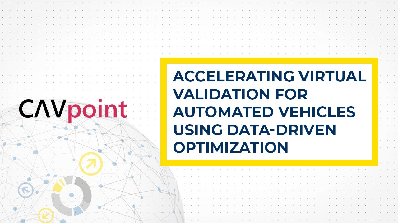 Video : Accelerating Validation for Automated Vehicles Using Data-Driven Optimization