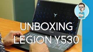 Lenovo Legion Y530 Gaming Laptop | Unboxing & First Impressions!