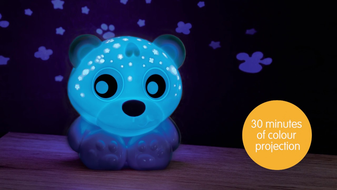 0186423 Goodnight Bear Night Light And Projector