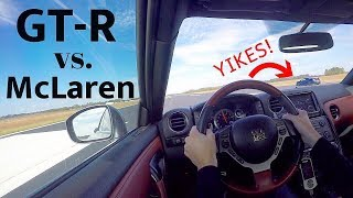 My GT-R Is FASTER Than You Think! *ALMOST CRASHES! *