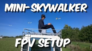 Aeromadness | Mini-SkyWalker | Low cost FPV with 35MHz Control