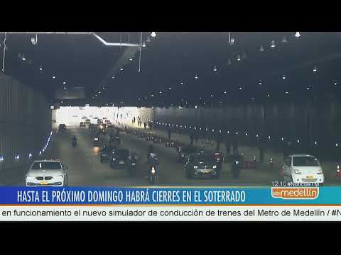 Inician cierres parciales en el soterrado de Parques del Río [Noticias] - Telemedellín