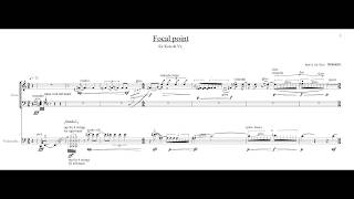 Focal point(2012)for Koto and Violoncello (LIVE recording)