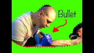 Uczę się u Patryka Chudzickiego tatuować...