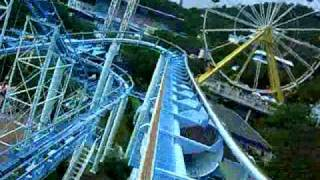 Rollercoaster at Ocean Park in Hong Kong