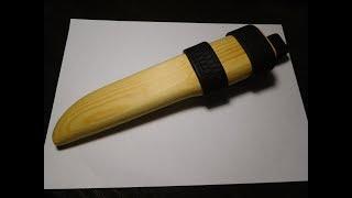 деревянные ножны своими руками // Wooden scabbard