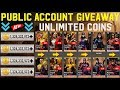INJUSTICE BRAND NEW PUBLIC ACCOUNT FOR EVERYONE WITH All The Maxed Characters And Over 1B Coins