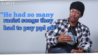 Vladtv & Nick Cannon explains Eminem payed people off to Hide the tapes of his Rascism!