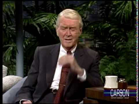 Jimmy Stewart's Classic New Year's Resolutions on Johnny Carson's Tonight Show 1989