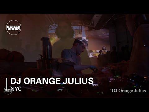 DJ Orange Julius Boiler Room New York DJ Set