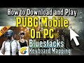 How to Download and Play PUBG Mobile on PC Bluestacks Controls (Working)